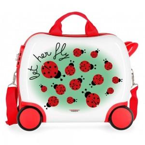 Petite valise trotteur enfant Let Her Fly - MOVOM