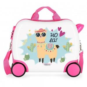 "Petite valise trotteur enfant ""Hola""- MOVOM"