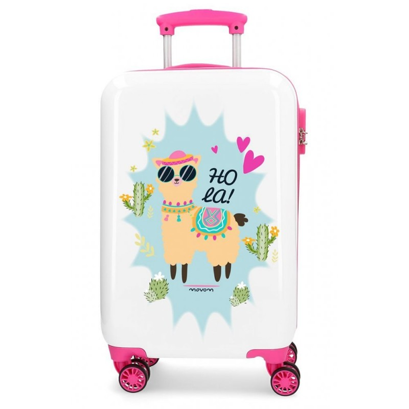 """Valise cabine 4 roues en ABS """"Hola"""" - MOVOM"""