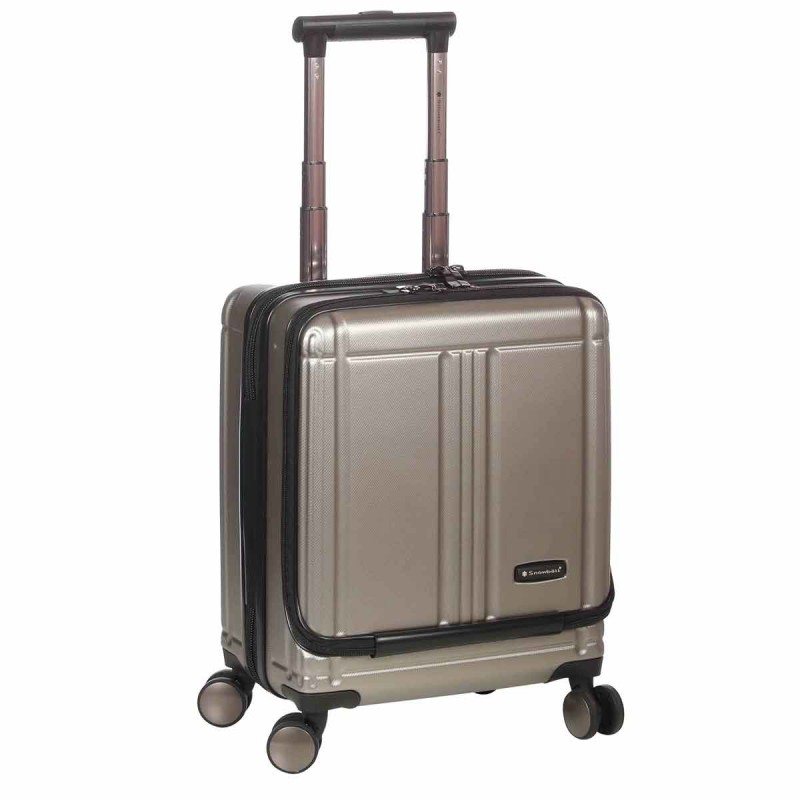 valise cabine 4 roues avec compartiment PC Champagne - Snowball.