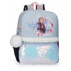 Sac à dos La Reine des Neiges 32cm Trust your journey - Disney.