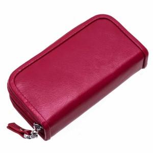 Trousse manucure Cuir DAVIDT'S Split Leather - Rouge