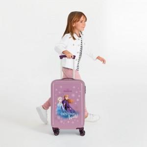 """Valise cabine pour fille LA REINE DES NEIGES 2 """"Destiny Awaits """" coloris pourpre"""