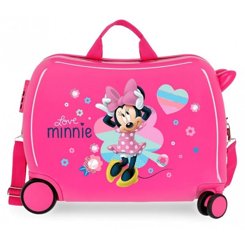 """Valise trotteur DISNEY Minnie """"LOVE"""""""
