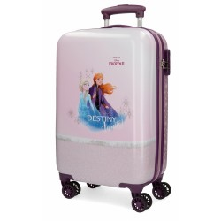 "Valise cabine LA REINE DES NEIGES ""Spirits of Nature"" - Poupre"