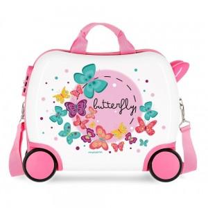 "Valise trotteur MOVOM ""Butterfly"" - petit modèle"