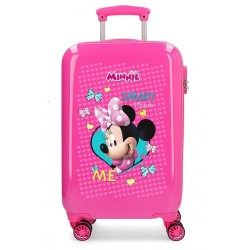 "Valise cabine enfant DISNEY Minnie ""Happy Helpers"""