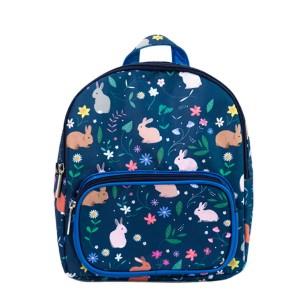 """Mini sac à dos enfant """"Lapins Bleus""""."""