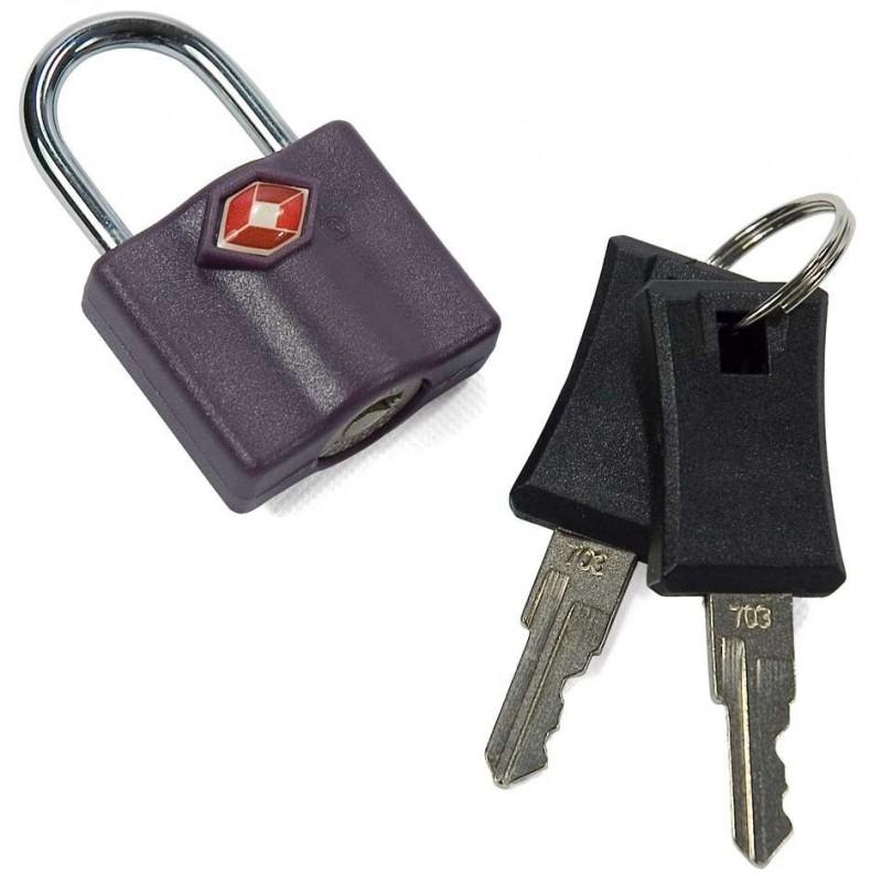 Cadenas TSA pour bagages BENZI gris   cadenas valise pas cher