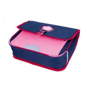 Cartable KICKERS 35 cm fille bleu/rose - dessous