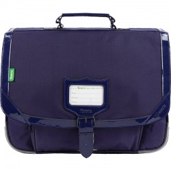 "Cartable TANN'S 38 cm ""Zoé"" violet - face"