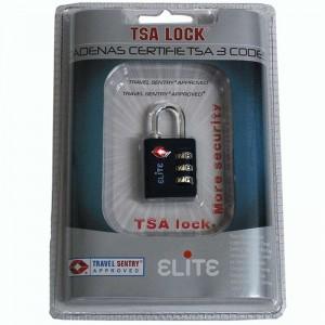 Cadenas à codes TSA - Noir