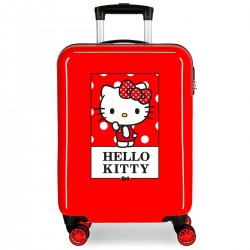 "Valise cabine HELLO KITTY ""Bow of Hello Kitty"" - rouge"