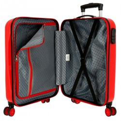 """Valise cabine HELLO KITTY """"Bow of Hello Kitty"""" - rouge"""