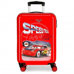 "Valise cabine CARS ""Speed Trials"" - rouge"