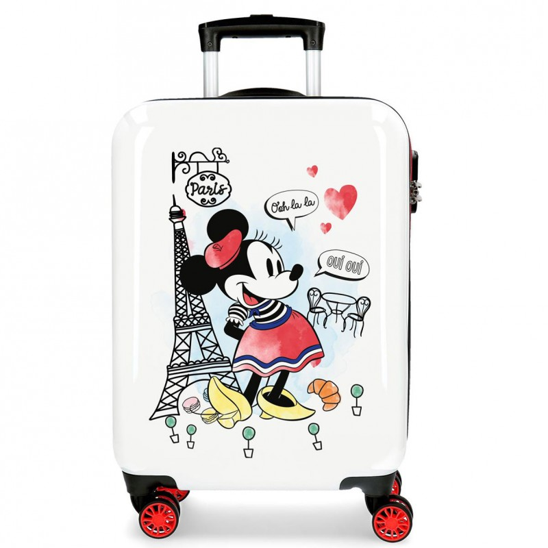 "Valise DISNEY Minnie ""Around the world"" - Paris"