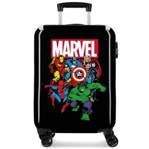 """Valise cabine MARVEL """"Sky Avengers"""" - noir"""