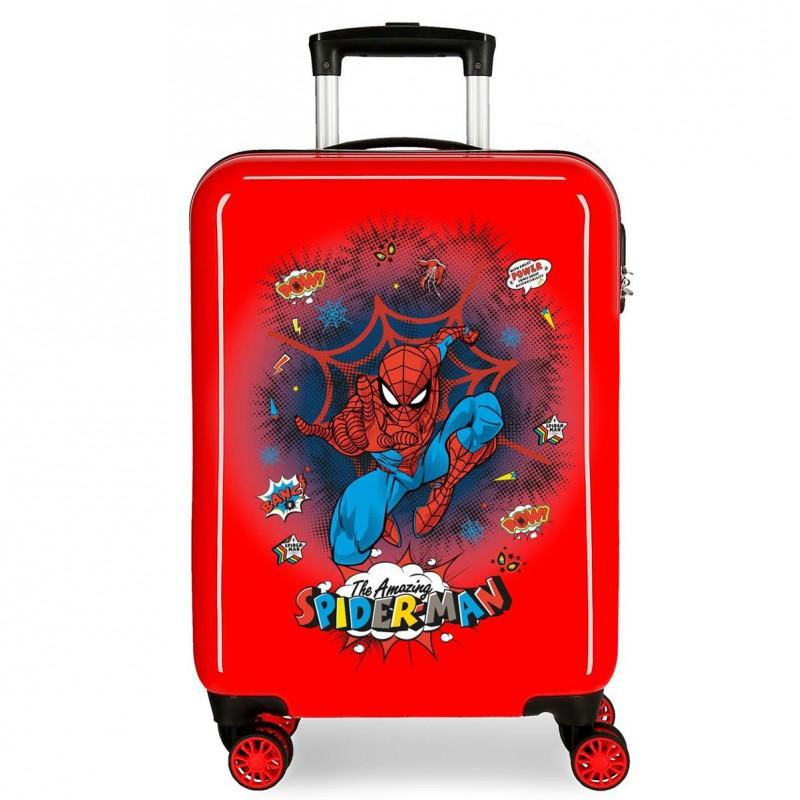 "Valise cabine SPIDERMAN ""Pop"" - rouge"