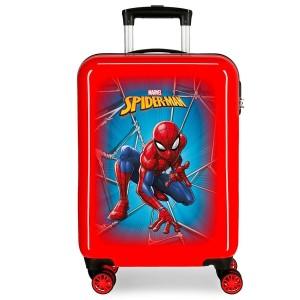 "Valise cabine SPIDERMAN ""Black"" - rouge"