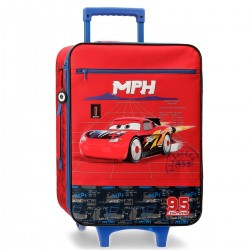 "Valise souple CARS ""Racing Rocket"" - rouge"