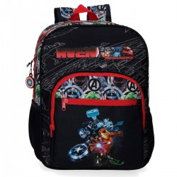 "Sac à dos AVENGERS ""Armour Up"" 38cm - noir"