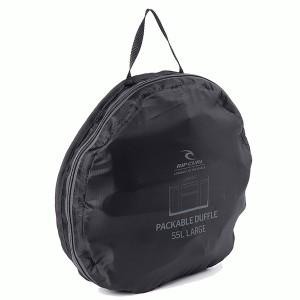 """Sac de voyage RIP CURL """"Packable Duffle"""" L - noir"""
