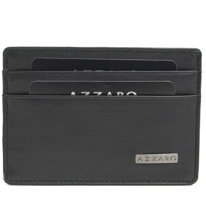 Porte-cartes en cuir AZZARO...