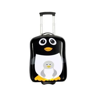 "Valise enfant SNOWBALL ""Pingouin"" - noir"