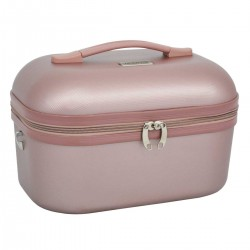 "Vanity case TRAVEL'S ""Kelly"" - rose gold"
