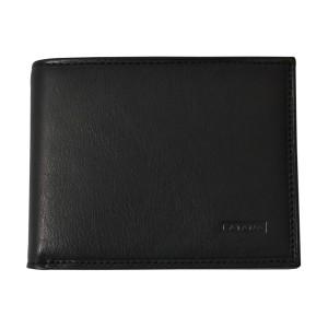 Portefeuille en cuir KATANA protection RFID - noir