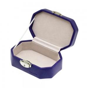 """Coffret à bijoux DAVIDTS """"Octogonal"""" - violet"""