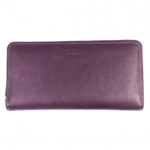 Compagnon femme en cuir KATANA - violet