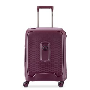 "Valise cabine 4 roues 55cm DELSEY ""Moncey"" - violet"