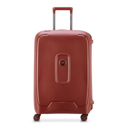 "Valise 4 roues double 69cm DELSEY ""Moncey"" - terracotta"