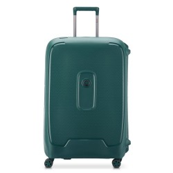 "Valise 4 roues double 76cm DELSEY ""Moncey"" - vert"