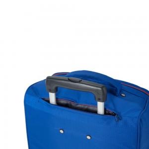 "Valise cabine pliable 2 roues BENZI ""New"" - bleu vif"