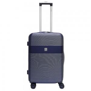 "Valise medium 60 cm BENZI ""Lines"" - bleu"