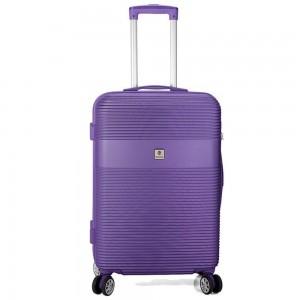 "Valise femme taille medium 66 cm BENZI ""Lines"" - violet"