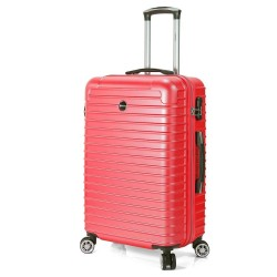 "Valise grande taille 76 cm BENZI ""Stripes"" - rouge"
