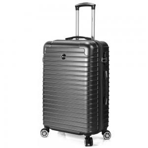 "Valise grande taille 76 cm BENZI ""Stripes"" - noir"