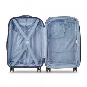 """Valise cabine 55 cm DELSEY """"Lima"""" - bleu"""