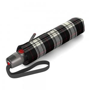 """Parapluie pliant KNIRPS """"T200 Medium Duomatic"""" - check"""