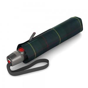 "Parapluie pliant KNIRPS ""T200 Medium Duomatic"" - check hunter"