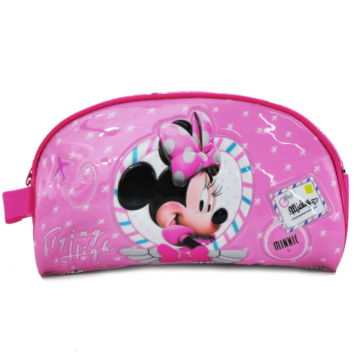 Trousse de Toilette Enfant MINNIE FLYING 21cm - Rose