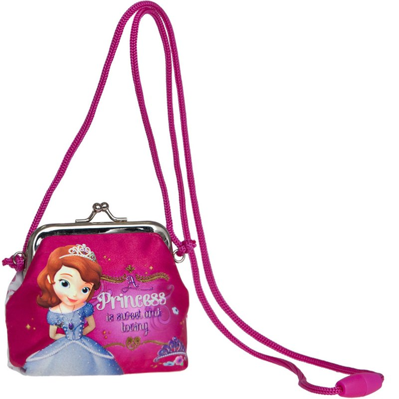 Porte-Monnaie bandoulière Fille MINNIE FLYING 22cm - Rose
