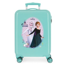 "Valise cabine fille LA REINE DES NEIGES ""Arendelle is home"" menthe DISNEY Princesse"