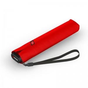 """Parapluie de poche slim ultra-léger KNIRPS """"US 050"""" rouge vif"""