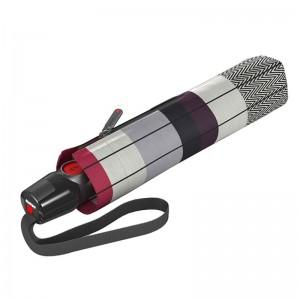 """Parapluie pliant KNIRPS """"T200 Medium Duomatic"""" recover fire ecorepel écologique"""