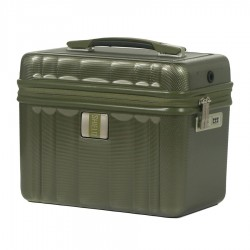 "Vanity case rigide ELITE ""Shield Apollo"" vert quartz"