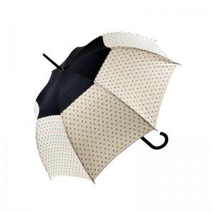 """Parapluie long LE PARAPLUIE FRANÇAIS """"Ancres"""" blanc made in France"""